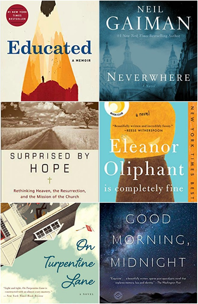 April 2019 Books Read covers