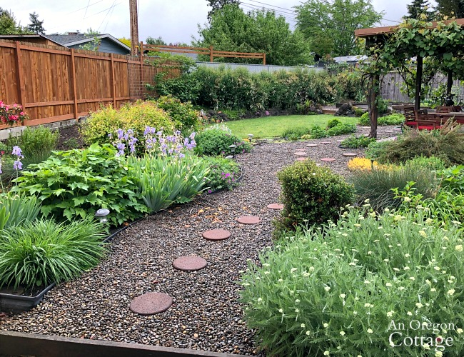 Major Yard Makeover 2019-towards patio