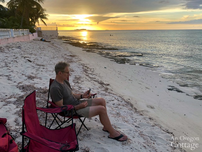 Bahamas sunset-podcast