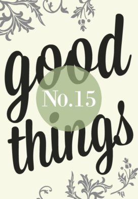 Good Things List No.15