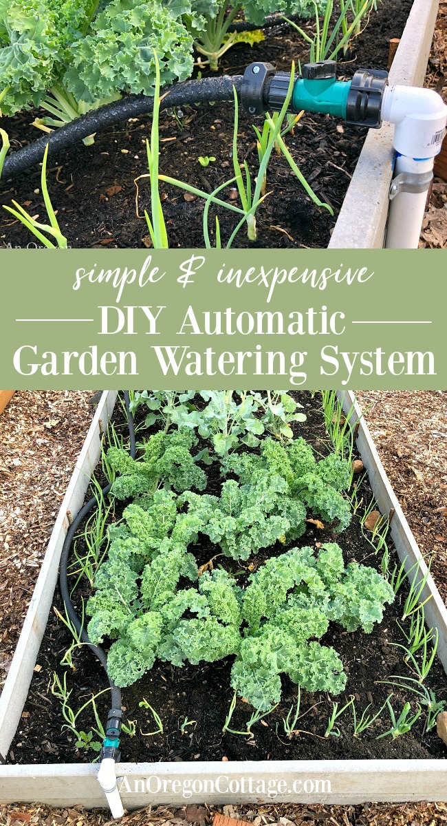Simple DIY automatic garden watering system
