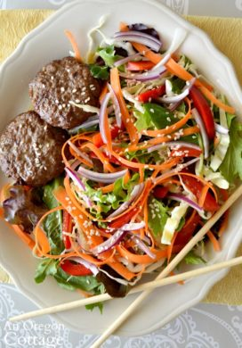 Thai Grilled Beef Salad above