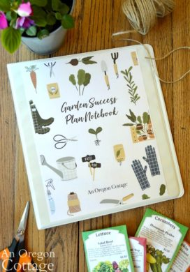 Garden Notebook 2019 cover