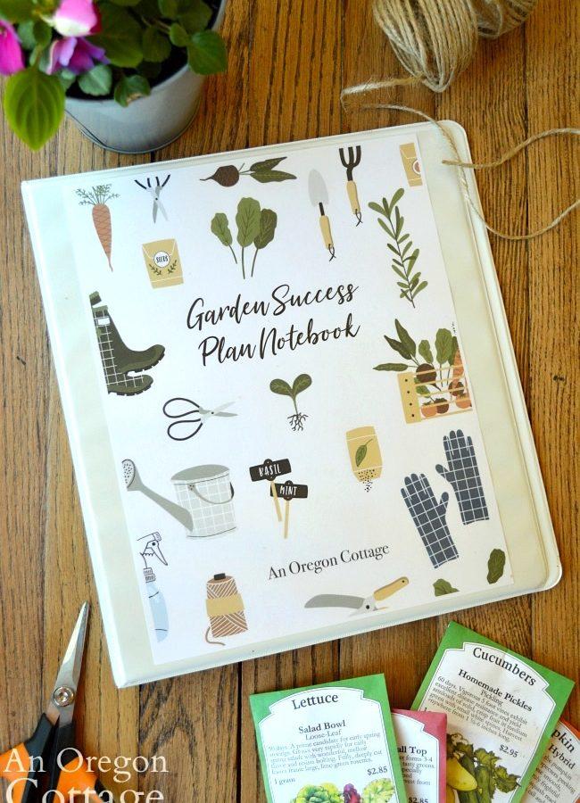 Garden Notebook 2019 cover
