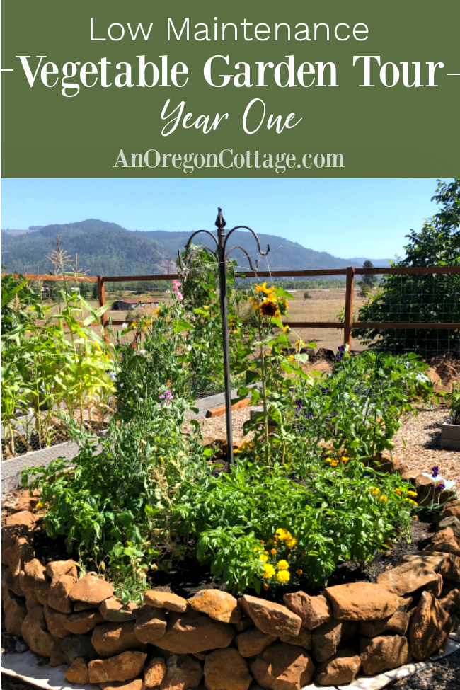 Vegetable Garden Summer Tour: Year One | An Oregon Cottage