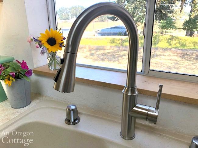 New gooseneck kitchen faucet