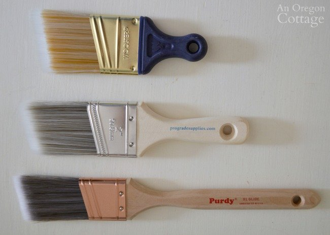 Paint brushes for testing