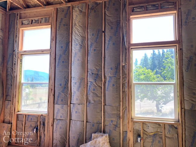 Bedroom insulated walls