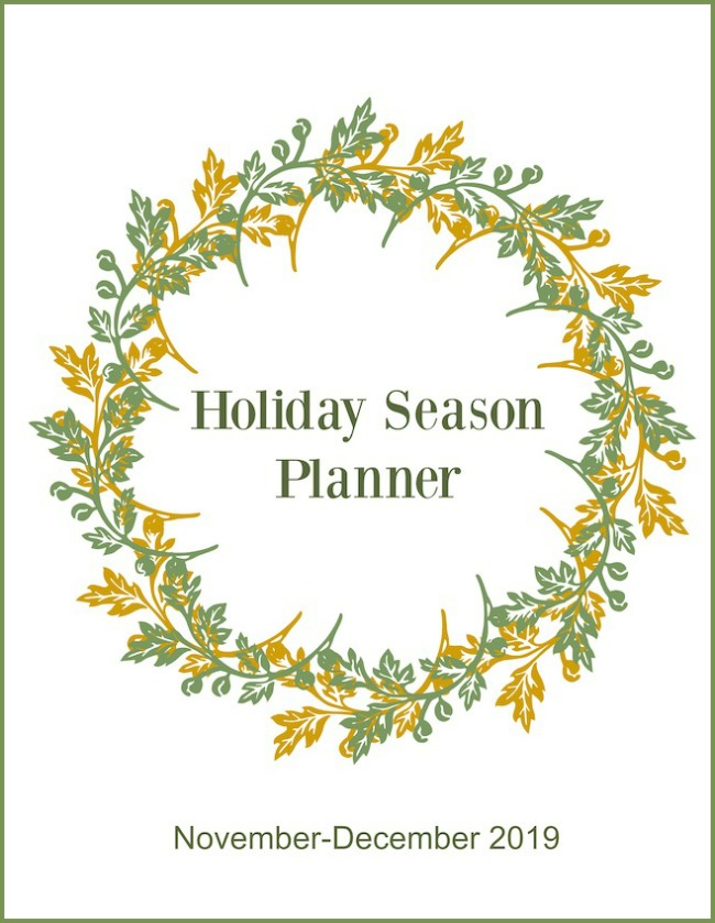 Holiday Season Planner cover