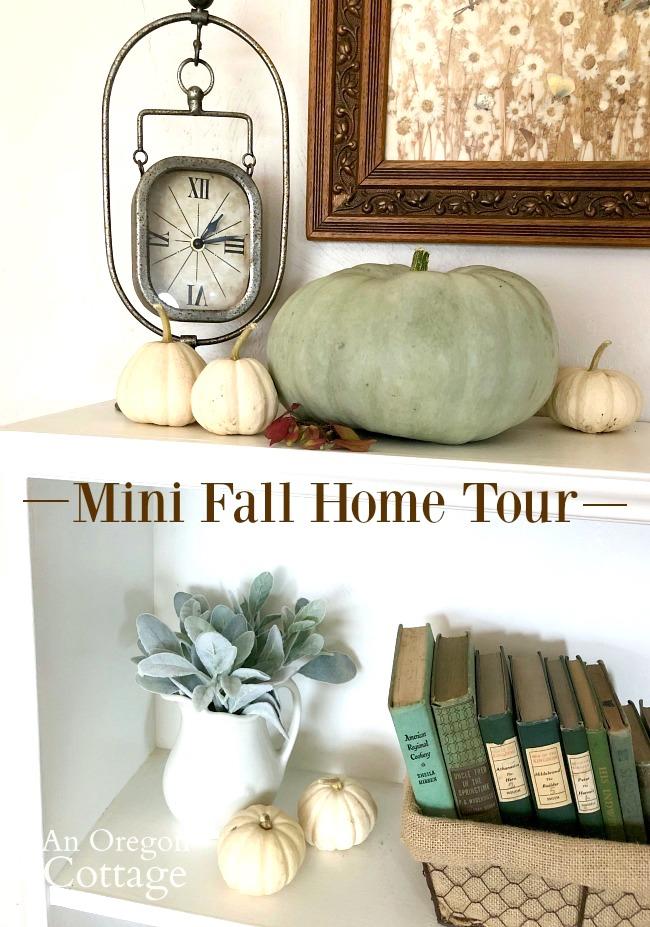 Mini fall home tour 2019