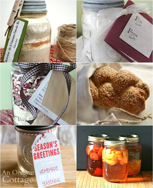 Quick handmade food gifts