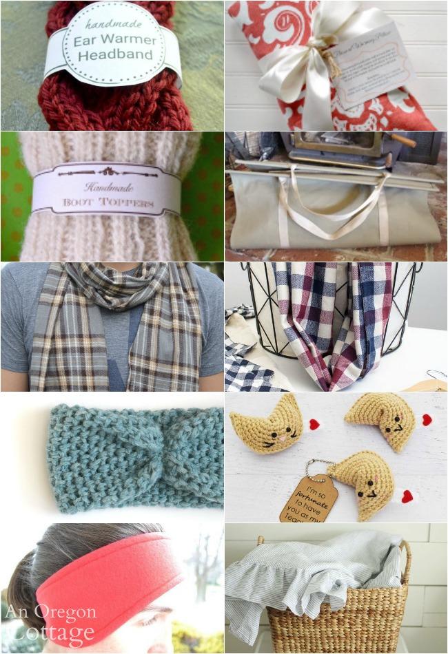 Quick handmade gifts-knit-chrochet-sew