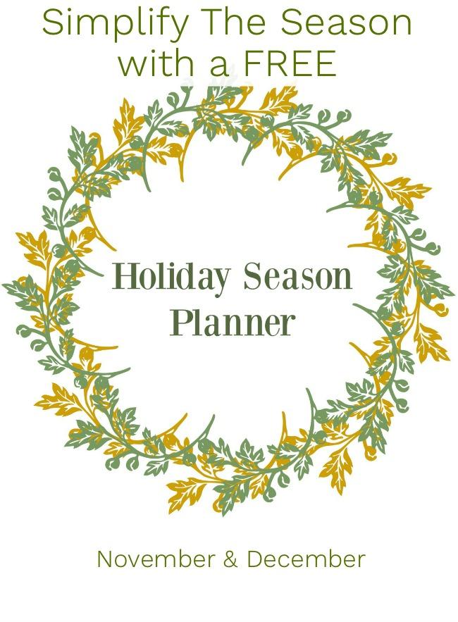 Simplify Season-Holiday Season Planner
