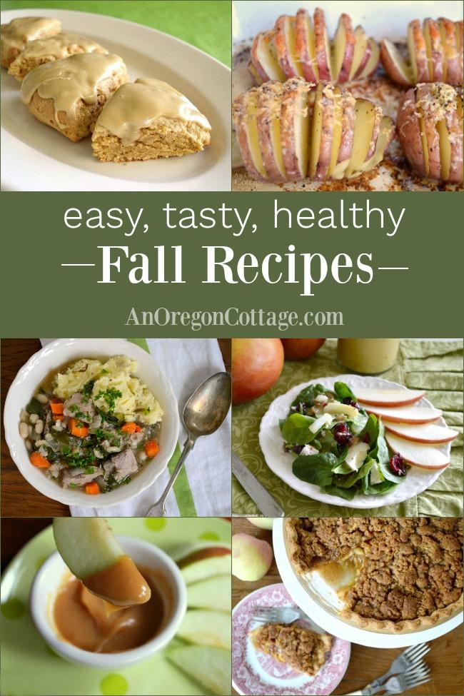 easy tasty healthy fall recipes