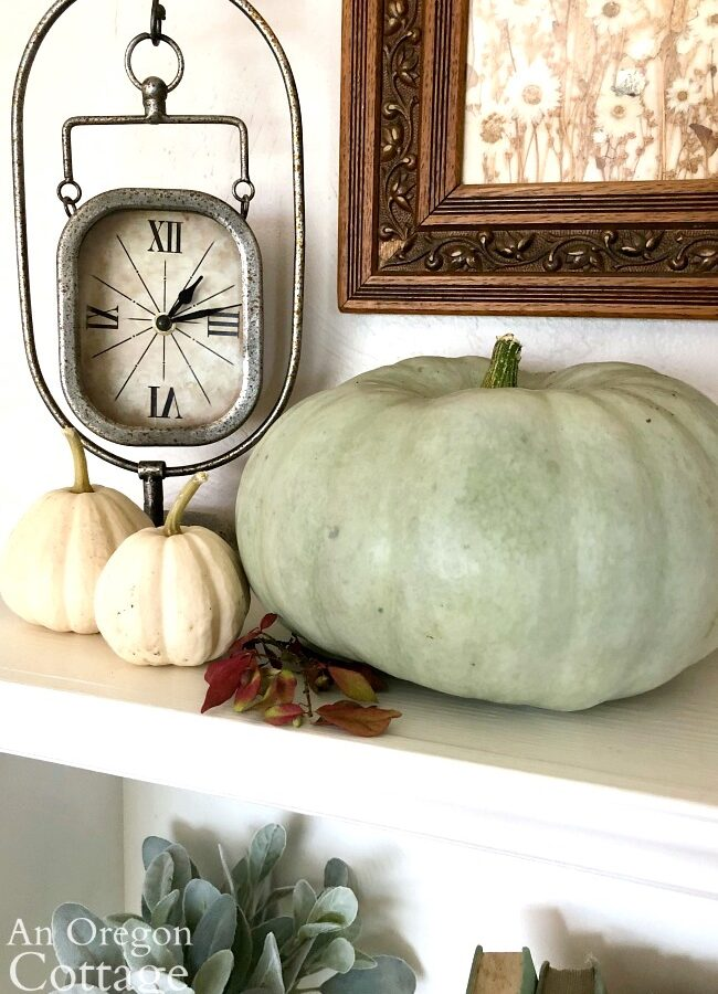 jarrhadale pumpkin with clock