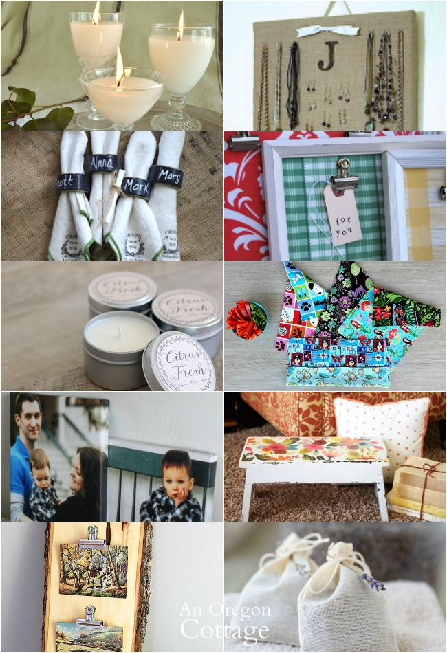 quick handmade gifts for the home
