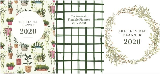2020 Flexible Planner Covers