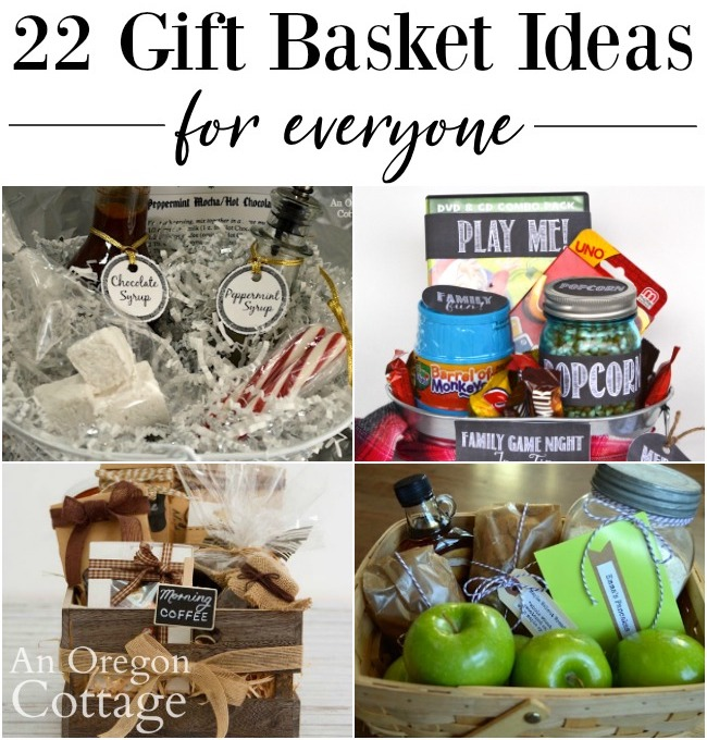 Gift Basket Ideas for everyone_600 collage