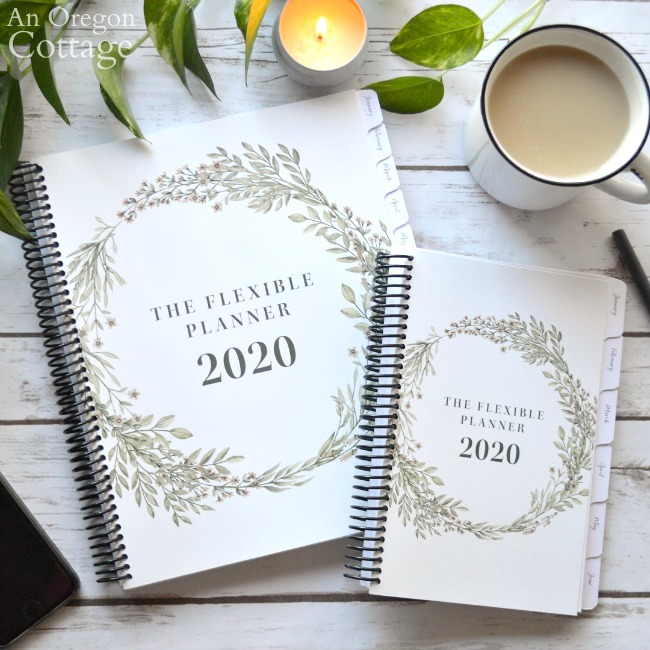 Physical Flexible Planners in two sizes