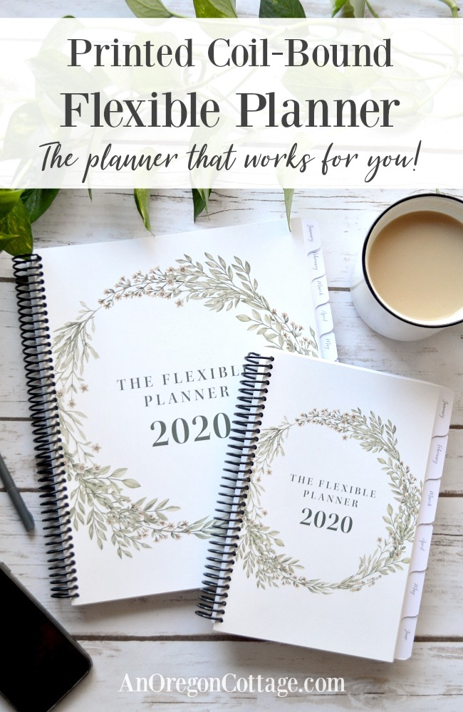 coil bound Flexible Planner that works