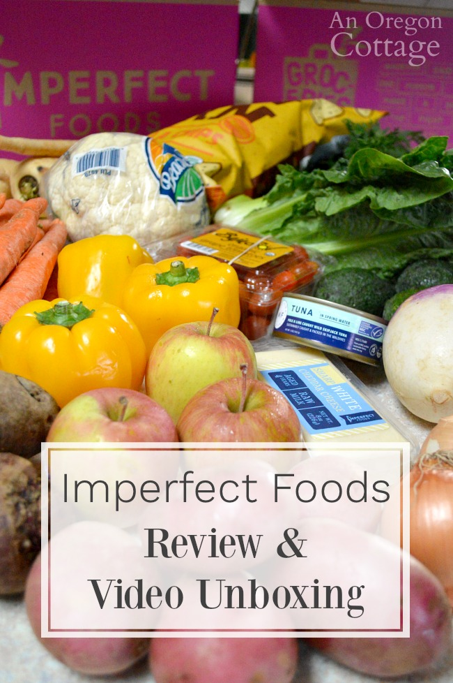 Imperfect Foods review and unboxing