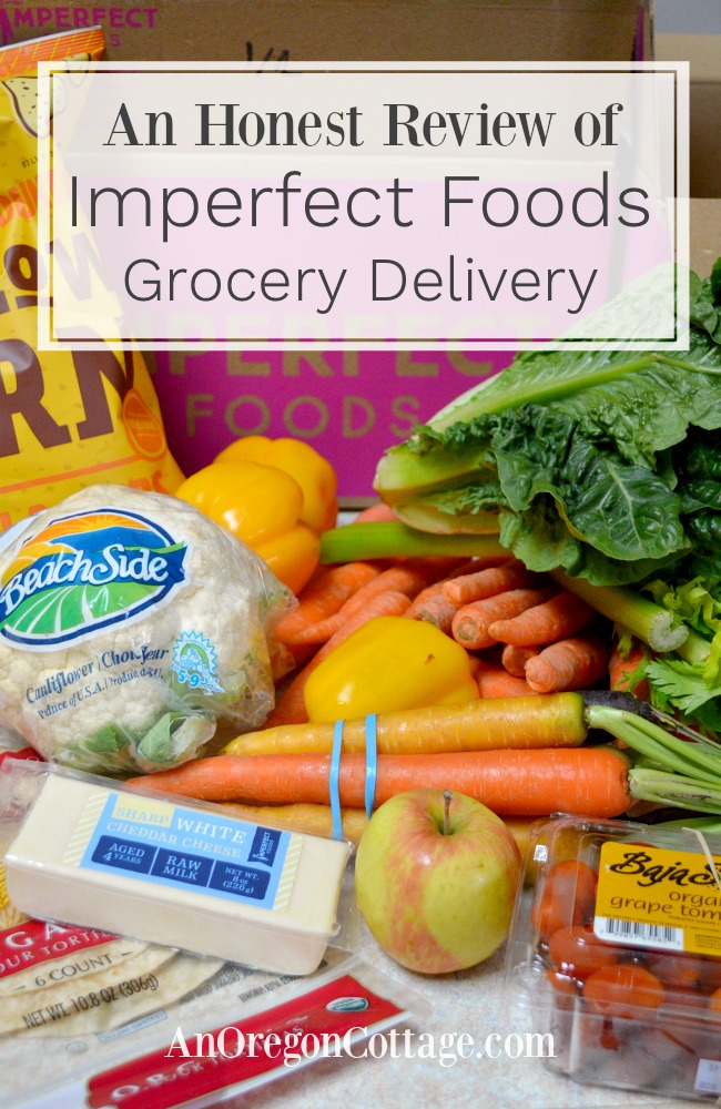 Imperfect foods grocery delivery review pin image