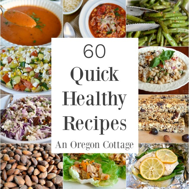 Quick Healthy Recipes images
