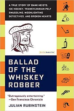 The Ballad of The Whiskey Robber cover