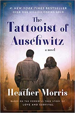 The Tatooist of Auschwitz cover