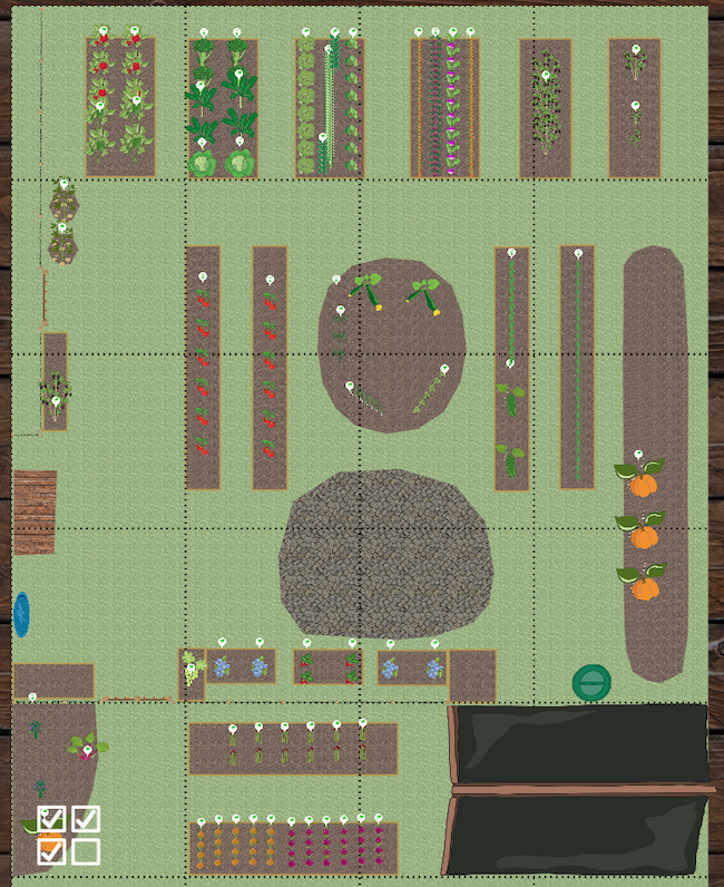 Farmhouse Veg Garden 2020