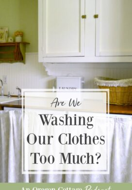 Podcast Ep.70-washing clothes too much