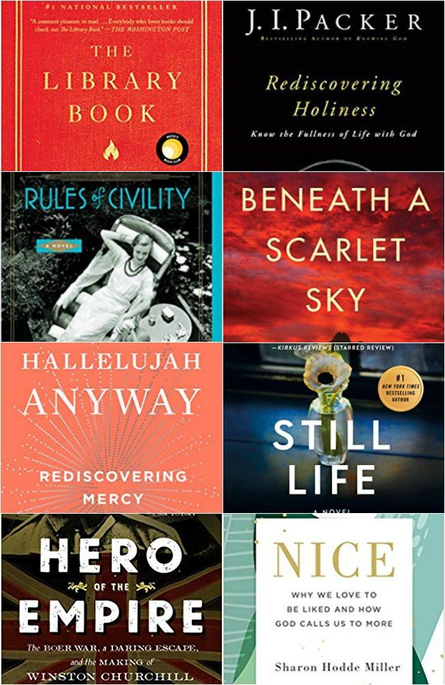 8 books read in February