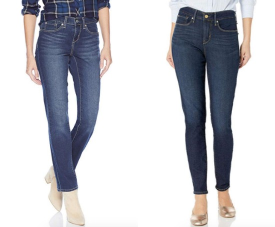 Levis signature curvy jeans