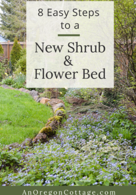 8 easy steps to a new shrub-flower bed