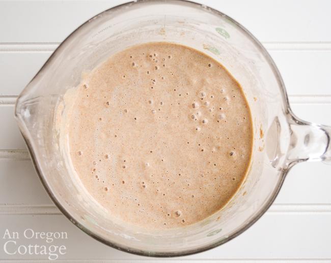 active sourdough starter