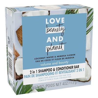 love beauty shampoo bar