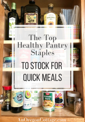 top pantry staples to stock for quick meals