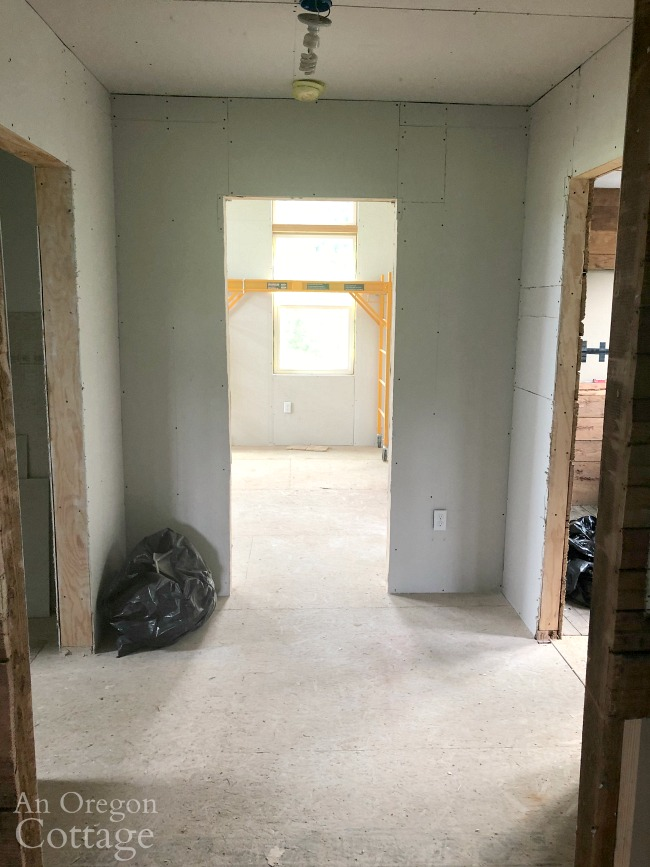 Farmhouse addition from hallway
