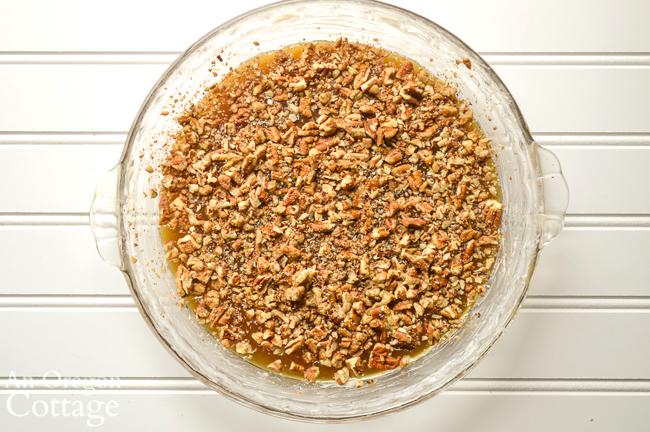 sticky bun sourdough coffee cake caramel layer