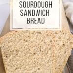 one rise sourdough sandwich bread
