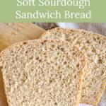 overnight sourdough sandwich bread