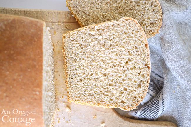 slice of soft sourdough sandwich bread