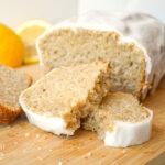 sourdough lemon loaf pieces