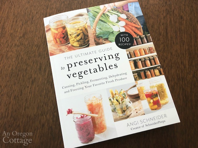 ultimate guide to preserving vegetables book cover