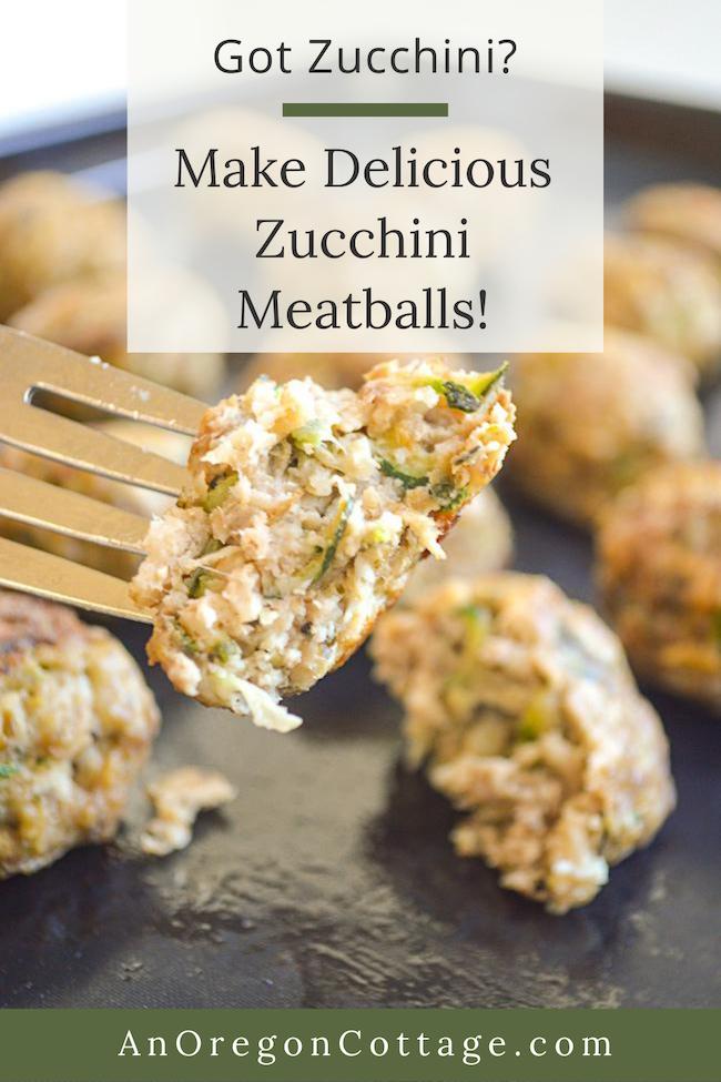 delicious zucchini meatballs