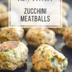 easy freezer zucchini meatballs
