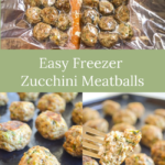 easy zucchini meatballs for freezing