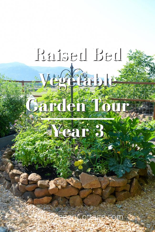 raised bed garden tour-year3