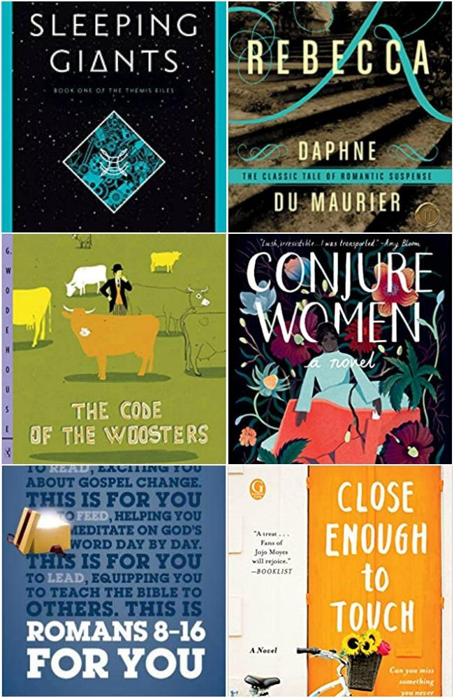 August 2020 books read