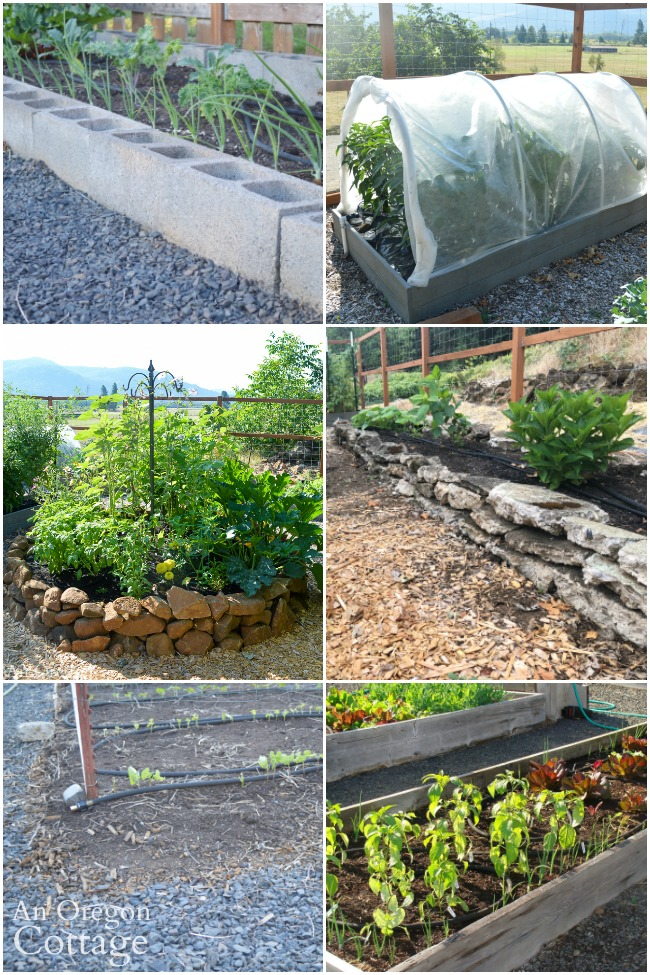 six types of raised beds